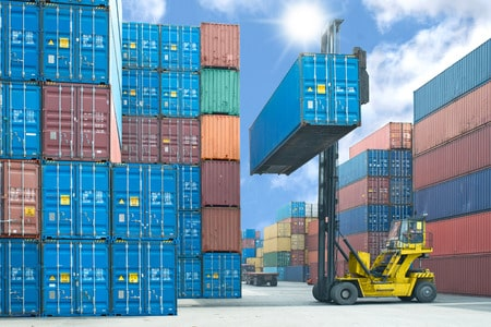 Container tracking with RFID
