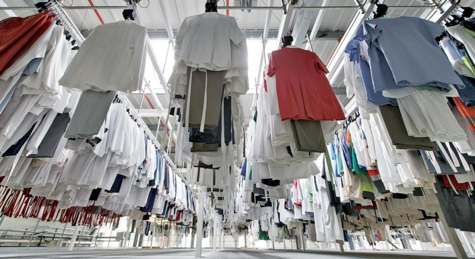 RFID for laundries