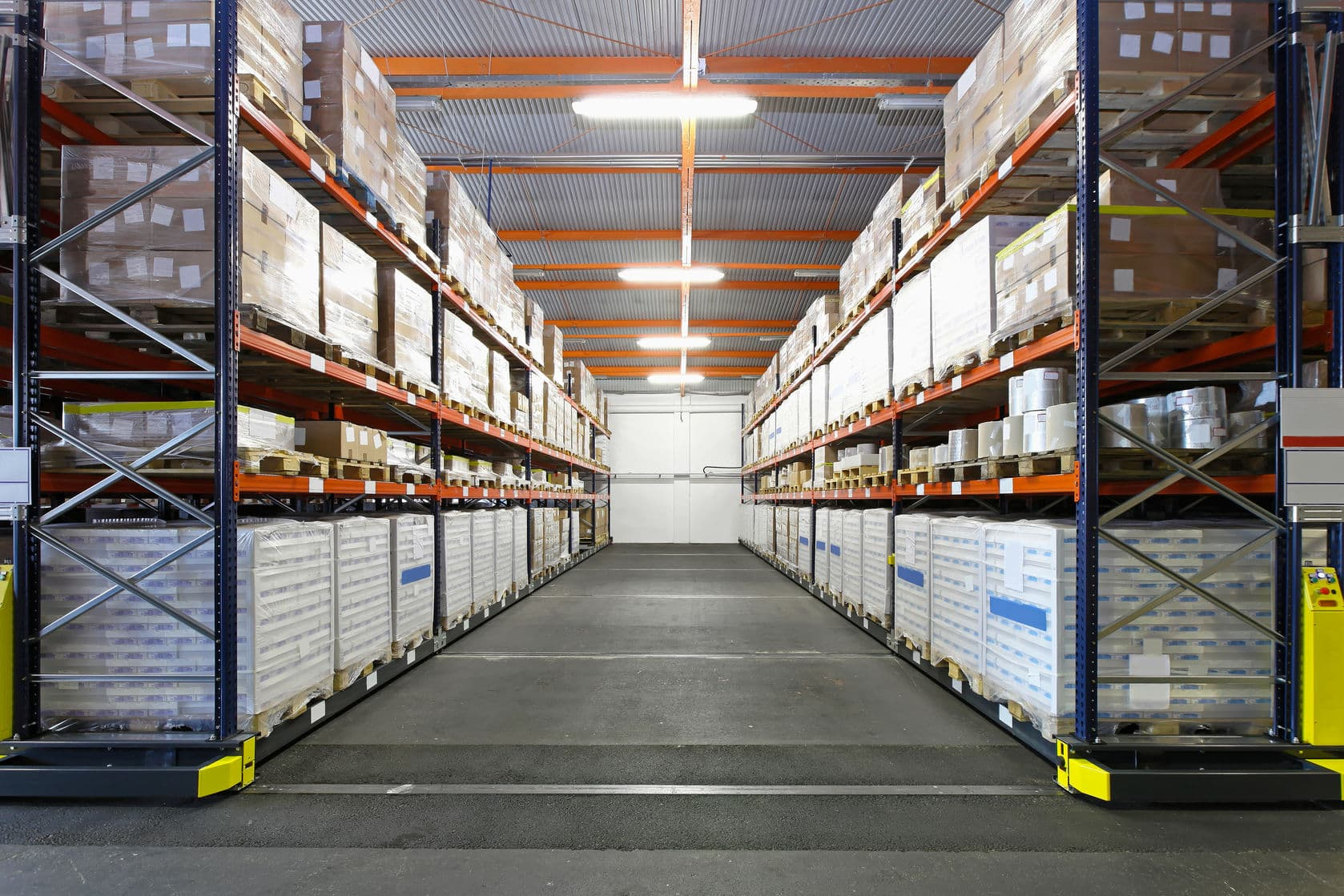 Use of RFID in warehouses