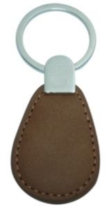 porte clés RFID cuire
