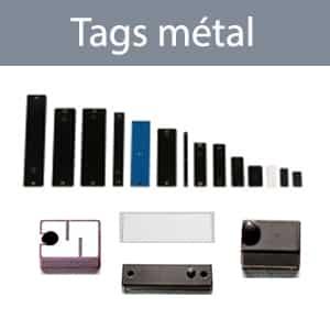 tags RFID métal