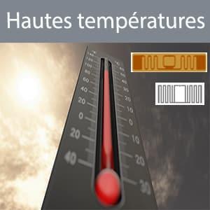 tags RFID hautes températures