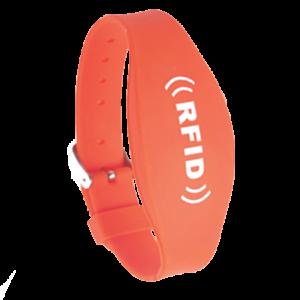 bracelet RFID silicone à fermeture