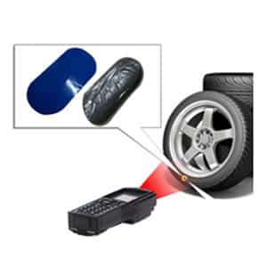 tag RFID pneu véhicules STD8 SparTag